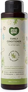 ecoLove Organic Conditioner with Cucumber Spinach and Parsley for All Hair Types Vegan Hair Conditioner for Women Men Kids...