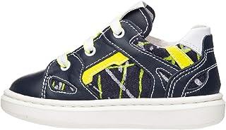 NeroGiardini E023805M Sneakers Kids Niño De Piel Y Tela