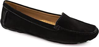 Driver Club USA Women's Leather Made in Brazil Hampton Loafer Driving Style
