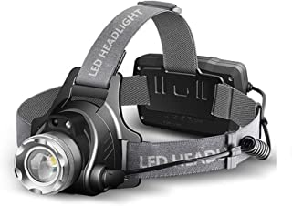 【Heikali 進級】 高輝度CREE L2 LED ヘッドライト ヘッドランプusb充電式人感センサー電池残量指示ランプ IP65防水仕様 角度調節可能 ズーム機能