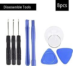 RorainT 8 PCS Repair Kit Disassemble Tools Phone Repair Tools Kit Smart Mobile Phone Screwdriver Opening Pry Set Hand Tools