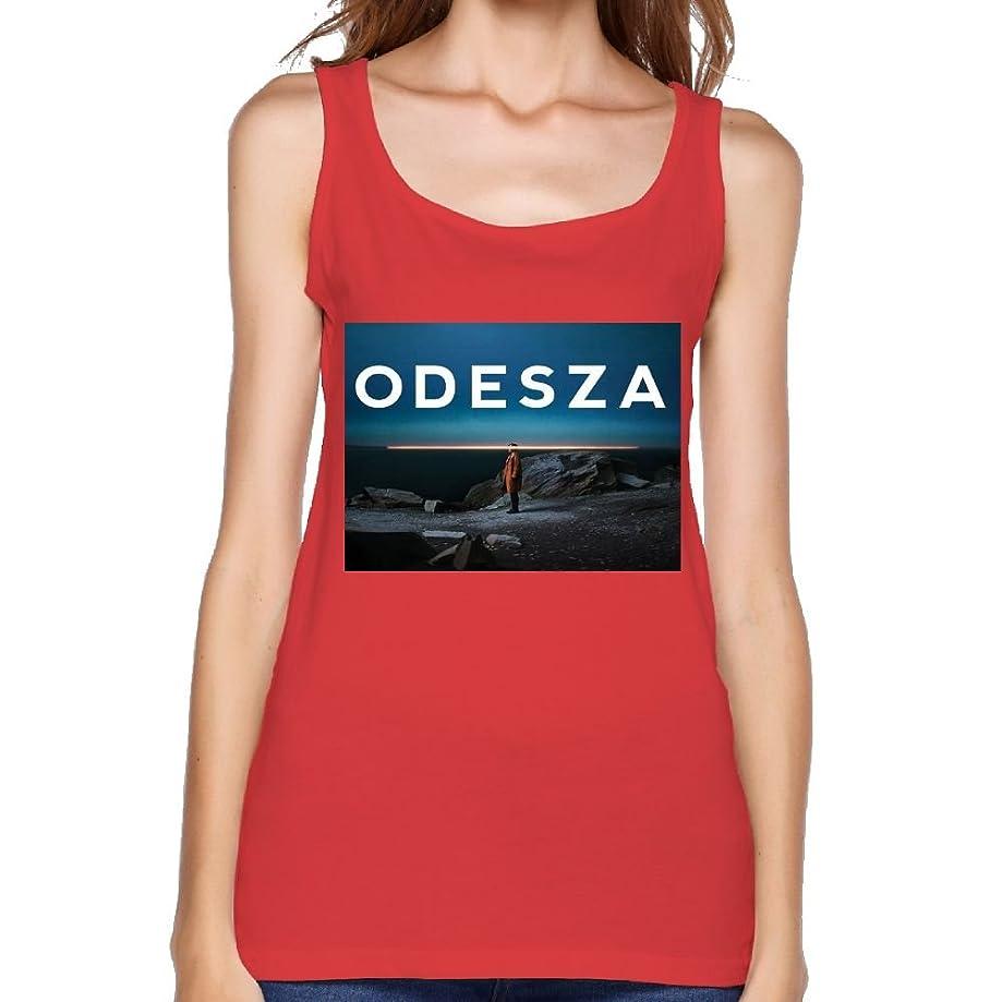 Quliuwuda Womens Odesza Casual Style Gym White Tank Tops Tank Tops