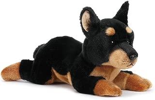 Nat and Jules Alert Large Doberman Pinscher Dog Children's Plush Stuffed Animal Toy