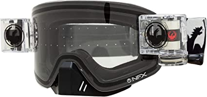 Details about  /Dragon Alliance Dr MXV Basic Goggles NIB With Soft White Carry Bag