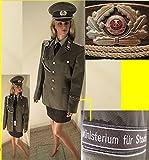 LAGERMAULWURF.de Uniform Kostüm Kleidergr. 38 Karneval Fasching Fetisch Schirmmütze Halloween