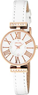 [フォリフォリ] 腕時計 ミニ ダイナスティ シルバー文字盤 ステンレス(PGPVD) ケース WF13B014SSW-WH 並行輸入品