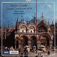ダリオ・カステッロ:現代的なソナタ・コンチェルターテ 第2巻から(1629)