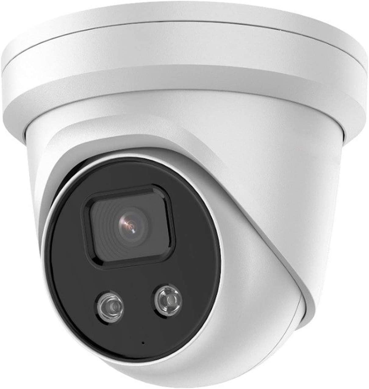 8MP Outdoor PoE IP Camera - UltraHD 4K AcuSense Darkfighter Outdoor Dome Camera with 98ft Night Version,Bulit-in Micphone,Smart H265+,IP67,Smart Human and Vehicle Detection (HS-VST08G2-IU 2.8mm)