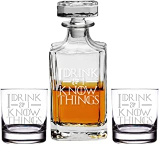 Best i drink and i know things decanter Reviews