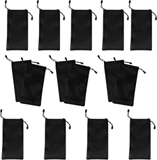 Beaupretty 15 Sets Glasses Storage Pouch Cell Phone Gadgets Accessories Sleeve Bag Pouch with Drawstring Closure for Clean...