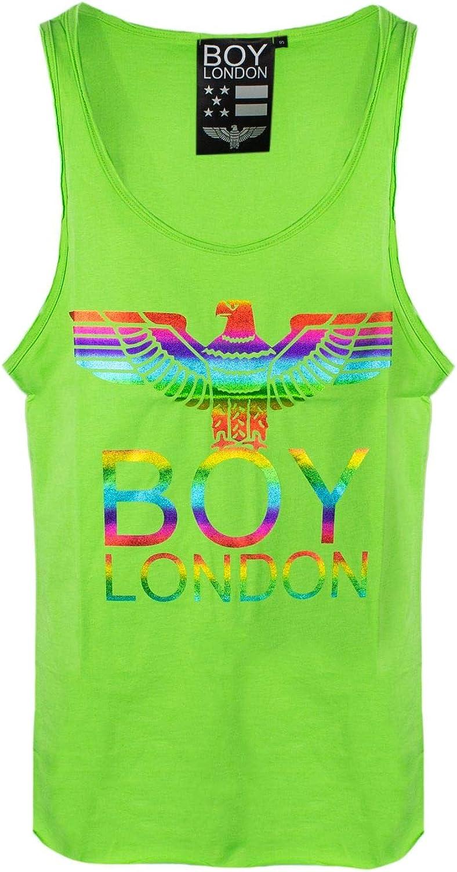 Boy London Women's 172ST028392406 Green Cotton Tank Top