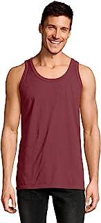 Hanes 5.5 oz, 100% Ringspun Cotton Garment-Dyed Tank...