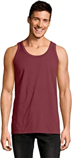 Mens ComfortWash Garment Dyed Sleeveless Tank Top (GDH300 GRTDYE)