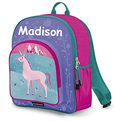 75bcefb3a1 Personalized Crocodile Creek Kids Unicorn School or Travel Backpack - 14  Inches