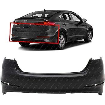 CAPA Front Bumper Cover Compatible with Hyundai Elantra 2017-2018 Primed USA Built