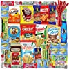 Care Package (40 Count) Snacks Food Cookies Bars Chips Candy Variety fathers day Gift Box Pack Assortment Basket Bundle Mix Bulk Sampler Treat College Students Final Exam Office,Fathers Day #4