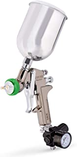 Neiko 31214A HVLP Gravity Feed Air Spray Gun, 1.5mm Nozzle Size, 600cc Aluminum Cup, 1.5mm nozzle
