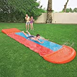 Dream-cool Wasserrutsche Rutschmatte Wasserrutschbahn Rutsche Wassermatte, Wasser Spielzeug Outdoor...
