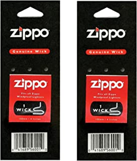 Zippo Genuine Replacement Wicks (2 Set)