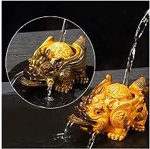 Tea Pet Ornaments, Creative Creativity, Temperature Change, Water Spraying, Fortune, Toad, Tea, Tea Table, Tea Tray, Kung ...