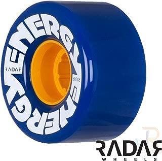 Radar Wheels - Energy 57 - Roller Skate Wheels - 4 Pack of 78A 31mm x 57mm Quad Skate Wheels