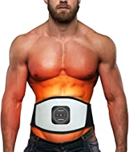 Mabstr Electric Body Waist Belly Slimming Sauna Abdominal Belt Tummy Belt Fat Burner Fitness Apparatus Muscle Trainer Quick Weight Loss for Men Women Fitness Device