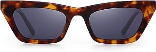Small Cat Eye Sunglasses Women Polarized Narrow Square...