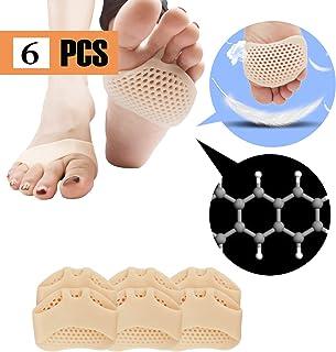 Almohadillas metatarsales, cojín de la bola del pie (6