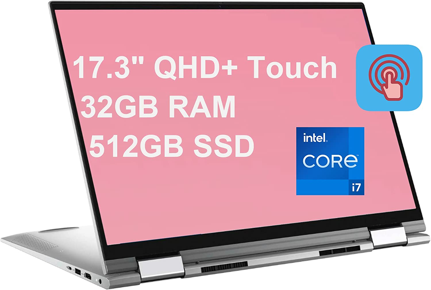 Dell Inspiron 17 7000 7706 Flagship 2-in-1 Laptop 17.3