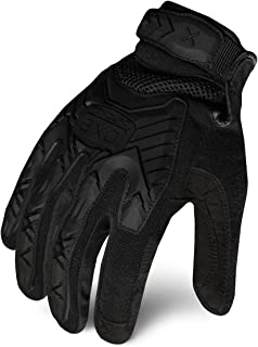 Ironclad EXOT-IBLK-03-M Tactical Operator Impact Glove, Stealth Black, Medium