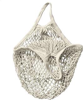 comprar comparacion Bolsa de la compra, bolsa de red, saco para patatas, de algodón orgánico, varios colores, Weiß, talla única