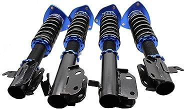 Coilover Suspension Shock Absorber Fit for 02-07 Subaru Impreza WRX GDB GDA Front &Rear Coil Struts