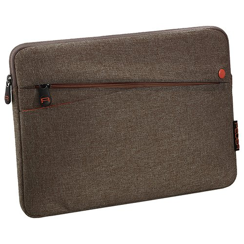Pedea Tablet PC Tasche Fashion für 12,9 Zoll (32,8 cm) Schutzhülle Etui Hülle mit Zubehörfach, braun