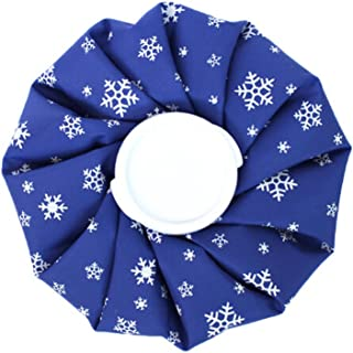 Cute Ice Bag For Hot and Cold Treatments, Snowflake, Blue