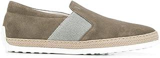 Luxury Fashion | Tod's Men XXM0TV0V530RE0C405 Beige Suede Slip On Sneakers | Season Outlet