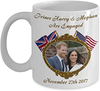 Prince Harry And Meghan Are Engaged Commemorative Coffee Mug Mugs of Tea