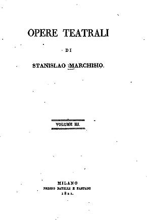 Opere Teatrali - Vol. III