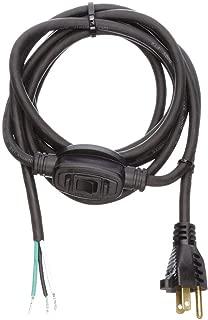 Power Cord, 5-15P, Sjo, 8 Ft, Blk, 10A, 14/3