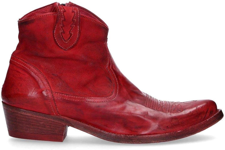 FRAMSTÄLLNING Kvinnors 36620R Rött läderskor läderskor läderskor  lägsta priserna