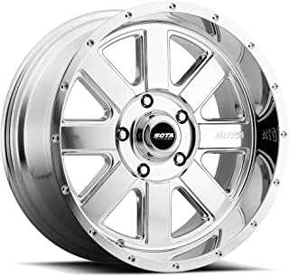 SOTA Offroad 569PL A.W.O.L. Full Wheel with Polished Finish (20 x 12. inches /5 x 5 inches, -51 mm Offset)