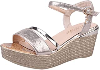 eefb4f10c8 Amazon.com: Gold - Sandals / Shoes: Clothing, Shoes & Jewelry