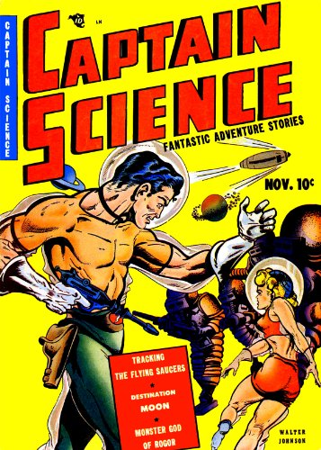 Captain Science, Number 1, Tracking the Flying Saucers (English Edition)