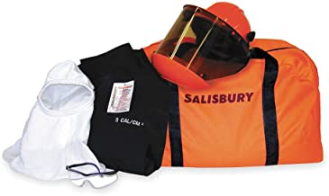 Salisbury by Honeywell SKCA11-L Arc Flash Protective Coverall Kits, 11 Cal/cm2, Large