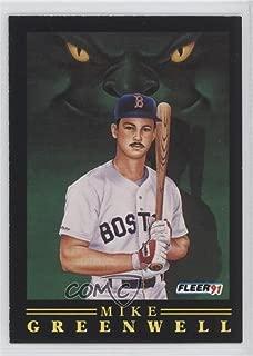 Mike Greenwell (Baseball Card) 1991 Fleer - Pro-Vision #8