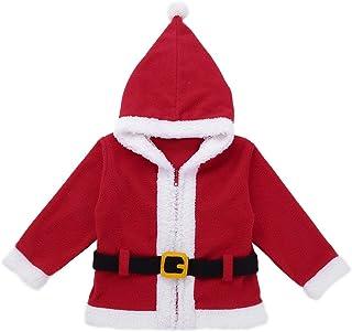 5cbbb383e7bc8 YiZYiF Noël Manteau à Capuche Bébé Enfant Garçon Fille Blouson Veste à  Manche Longue Cardigan Chaud