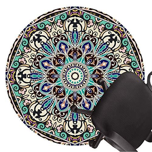 XJRS bürostuhl bodenschutzmatte Bürostuhlmatten für Harte Böden rutschfeste Bodenschutzmatte Kurzer Flor Stille Teppiche Leicht Zu Reinigen(Size:120cm/47.2in,Color:E.)