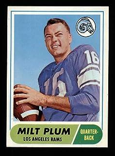 1968 Topps Football #104 Milt Plum STARX 7 NM CS25433