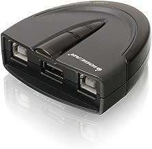 IOGEAR 2-Port USB 2.0 Automatic Printer Switch, GUB231