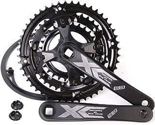 Rollcub Bike Crankset 9 Speed for Road Bike Mountain Bicycle 24 34 42, 170mm Crank Length