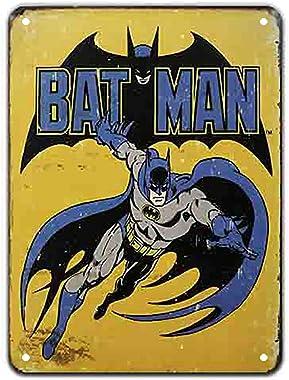 KUSTOM FACTORY Plaque Acier Batman DC Comics